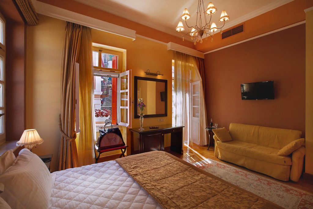 nafplio greece accommodation - Aetoma hotel